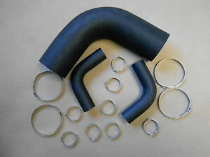 Mopar 66 67 B Body Charger Coronet Satellite Gtx Filler Neck Hoses Clamps New