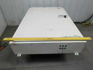 42 w X 60 t X 10 d Steel Electrical Enclosure Cabinet W Backplate