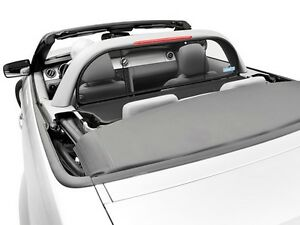 Mustang Convertible 2005 To 2014 Wind Deflector Compatible With Light style Bar