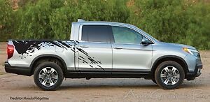 Predator Mudslinger Side Truck Bed Vinyl Decal Graphic Stripes Honda Ridgeline