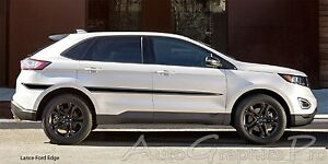Lance Vinyl Graphics Side Door Body Line Accent Stripe Decal For Ford Edge