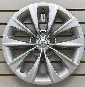 2015 2017 Toyota Camry 16 Silver Hubcap Wheelcover Factory Original