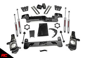 Rough Country 6 Lift Kit Fit 01 10 Chevy Hd Gmc 2500 4wd Suspension Kit 29730