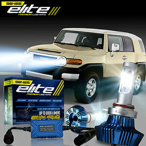 G7 Elite Led Headlight Bulb Conversion Kit For 2007 2014 Toyota Fj Cruiser