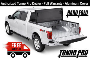 05 18 Frontier 5 Ft Bed Tonno Pro Aluminum Tri Hard Fold Tonneau Cover Hf 452