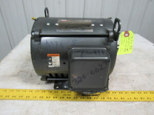 Lincoln Sd4p7 5t61 7 5hp Electric Motor 213t Frame 208 230 460v 1755rpm