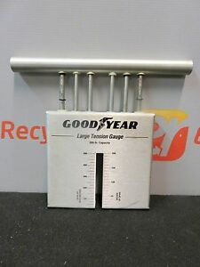 Goodyear Large Tension Gauge 200 Lb Capacity Tester Mechanical