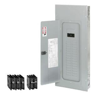 Eaton 200 amp 30 space 40 circuit Main breaker Box Indoor Home Electrical panel