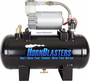 Hornblasters Mc 127h 1 5 Gallon 120psi Air Source Kit Tank Compressor Unit