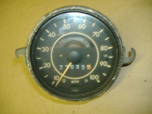 Vw Bug Speedometer 68 74 Yr 113957023k No Fuel Guage