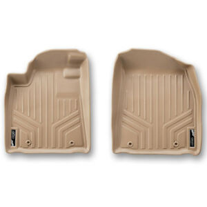 Maxfloormat Floor Mats For Honda Pilot 2009 2015 First Row Set Tan