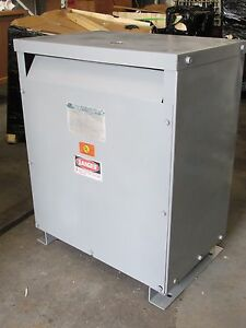 Sorgel Dry Type Transformer 25 Kva 480v 3ph Cat 25t3h Od 486