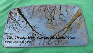 2001 Chrysler 300m Year Specific Sunroof Glass Oem Free Shipping