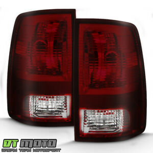 Red Smoke 2009 2018 Dodge Ram 1500 10 18 Ram 2500 3500 Tail Lights Brake Lamps