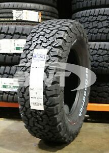4 New Bf Goodrich All Terrain T A Ko2 112s Tires 2657017 265 70 17 26570r17