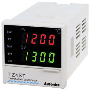 Autonics Tz4st 14r Pid Temperature Controller 1 16 Din Digital Relay Output
