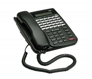 Comdial Dx80 Dx 80 7260 00 Hac Black Lcd Office Phone Refurbished Year Warranty