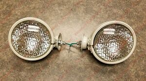 Gray Head Lamp Lights For Allis Chalmers D10 D12 D15 D17 D19 H3 Tract o lite
