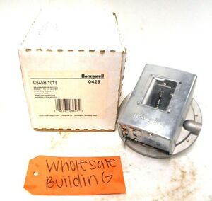 Honeywell Gas air Pressure Switch C645b 1013 3 21 Water