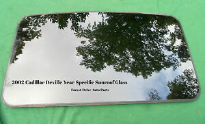 2002 Cadillac Deville Year Specific Oem Factory Sunroof Glass Free Shipping