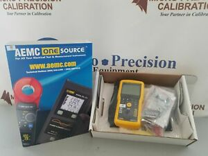 Aemc 6524 Digital Meghommeter new Fresh Cert