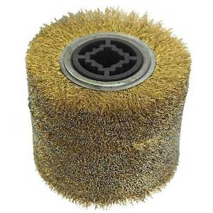 Aw ssb Steel Wire Brush Wheel Fits Hardin Hd 5800 Burnisher Polisher