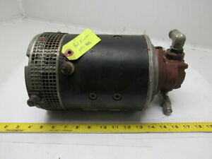 Prestolite Mko 4015 36vdc Electric Motor Hydraulic Pump From A Clark Np20 Lift