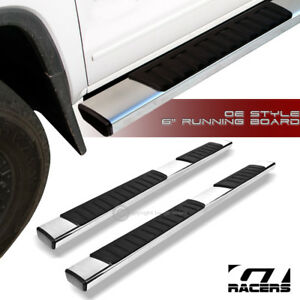 For 2015 2019 Chevy Tahoe Gmc Yukon 6 Aluminum Side Step Running Boards