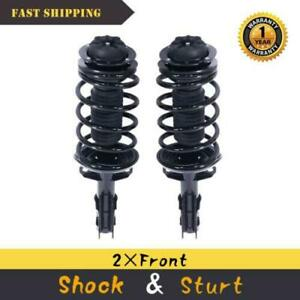 For 03 07 Saturn Ion Front Quick Complete Struts Coil Springs W mounts Pair X2