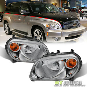 2006 2011 Chevy Hhr Headlights Headlamps Replacement 06 11 Pair Set Left Right
