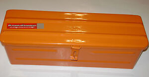 5a3or Steel Orange Tractor Tool Box For Allis Chalmers Kubota Kioti Tractor Ind