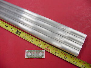 4 Pieces 5 8 Aluminum 6061 Round Rod 19 Long T6511 Solid Lathe Bar Stock 625
