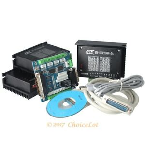 3 Axis Cnc Router Diy Kit 5 Axis Breakout Board Tb6600hg Stepper Motor Driver 5a