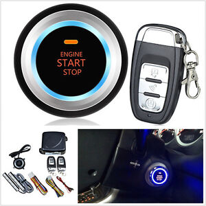 8 X Car One Key Start Keyless Entry Engine Starter Push Button Upgraded Version
