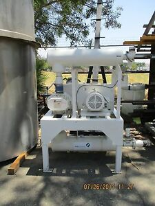 Gardner Denver 5mr Sutorbilt Positive Displacement Blower 7 5hp