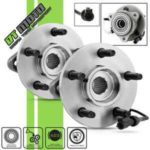Pair 2 Front Wheel Hub bearing For Ford Explorer Sport Trac Ranger B4000 W abs