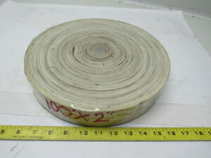 3 ply White Rubber Smooth Top Conveyor Belt 100 X 2 X 0 150
