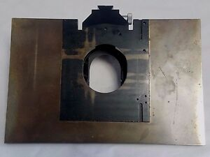 Leitz Wetzlar Microscope Brass Stage Extension Platform For Ortholux