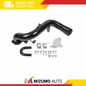6 6 Duramax Lmm Egr Delete Kit High Flow Intake Elbow Fit 07 10 Chevrolet Diesel