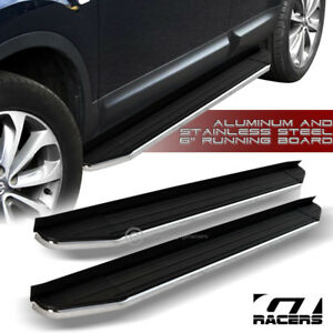 2016 2017 Honda Pilot 6 Hd Aluminum Blk Chrome Trim Side Step Running Boards Vp
