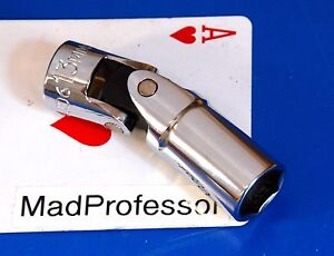 Mac Tools 3 8 Drive Metric 13mm Deep Universal 6 point Chrome Socket Wrench New
