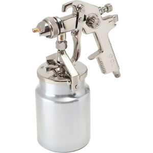 Pcl Air Technology Sg01p Hvlp Suction Spray Gun 1 7mm Fluid Nozzle Qty 1