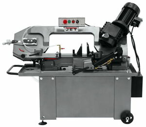 Jet 8 X 14 Horizontal Geared Head Bandsaw 414466 Free Shipping