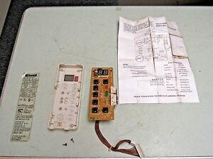 Kenmore A c Air Conditioner Display Control Panel Board P n 6871a30004b