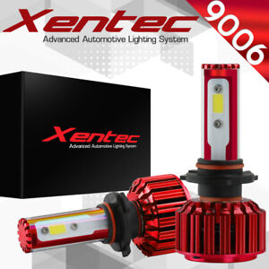 Xentec Led Hid Headlight Kit 9006 White For 1999 2006 Chevrolet Silverado 1500
