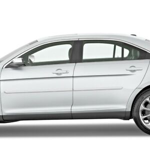 Painted Body Side Moldings With Chrome Trim Insert For Ford Taurus 2010 2020