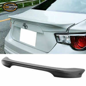 Fit For Scion Fr s Frs 13 17 Toyota Gt86 Subaru Brz Rear Abs Trunk Spoiler Wing