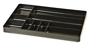 Ernst 5011 The Tray Classic 10 Compartment Tool Organizer Black