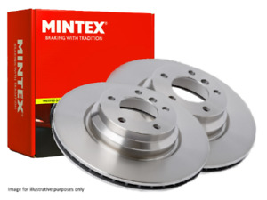 New Mintex Front Brake Discs 2x Discs Mdc1030 Free Next Day Delivery