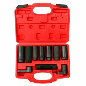 10pcs Oxygen Sensor Socket Set Sensor Oil Pressure Sending Unit Socket Set